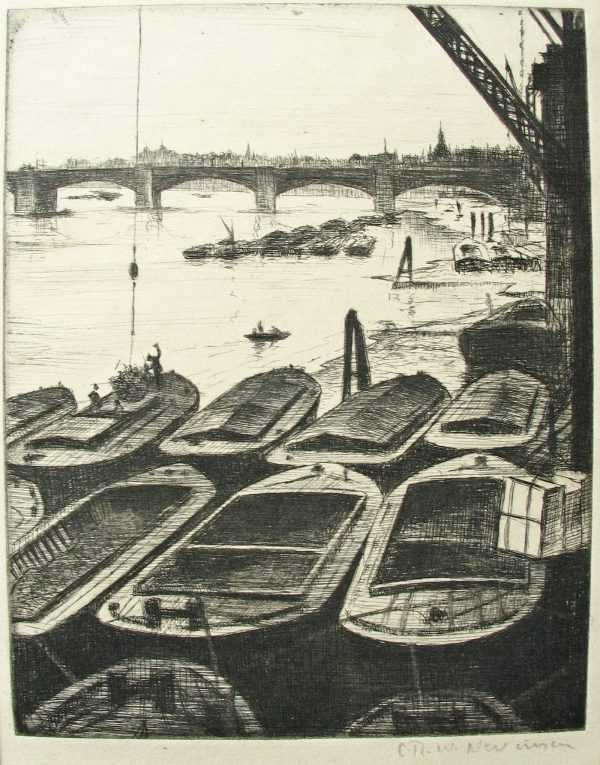 Sell Christopher Richard Wynne Nevinson paintings and etchings to Robert Perera Fine Art Ltd
