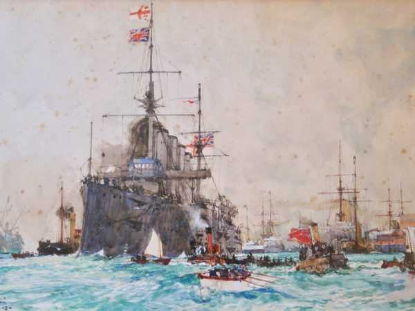 Charles Dixon Portsmouth sell to Robert Perera Fine Art Ltd