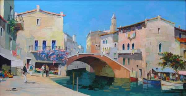 Sell Doyly-John Venice oils to Robert Perera Fine Art