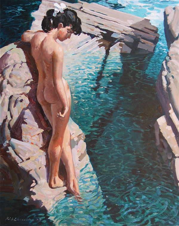 Value Keith Shackleton artist paintings to Robert Perera Fine Art Ltd