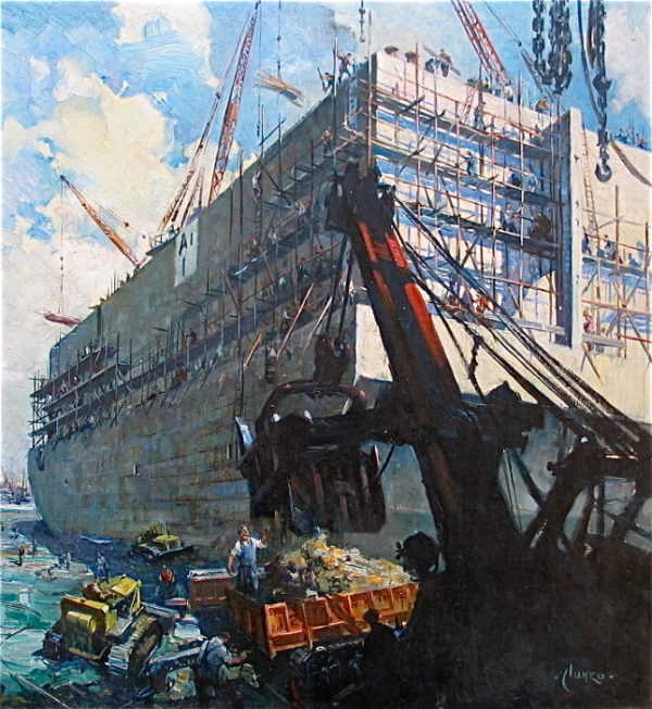 Sell Terence Cuneo oil painting to Robert Perera Fine Art