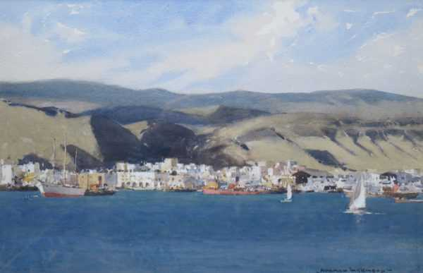 Gran Canaria by Artist Norman Wilkinson - Robert Perera Fine Art Ltd.