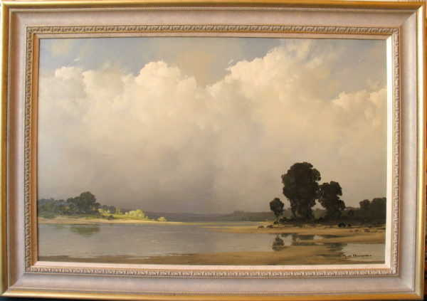Sell Pierre de Clausade artist paintings to Robert Perera Fine