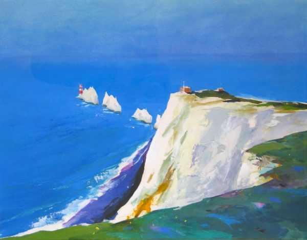 Needles, Isle of Wight, Donald Hamilton Fraser