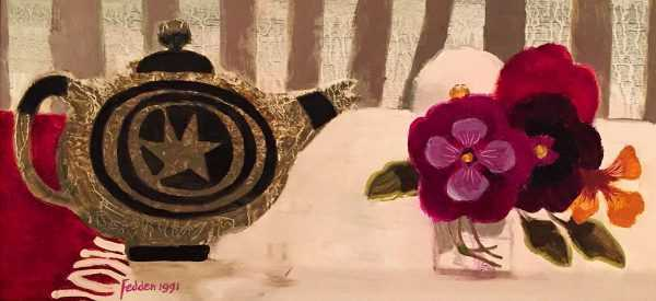 Sell Mary Fedden Still Life oil painting - Robert Perera Fine Art Ltd.
