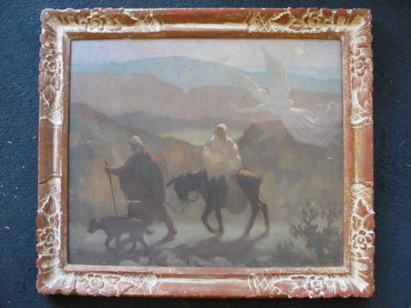 Adolphe Valette sell art to Robert Perera