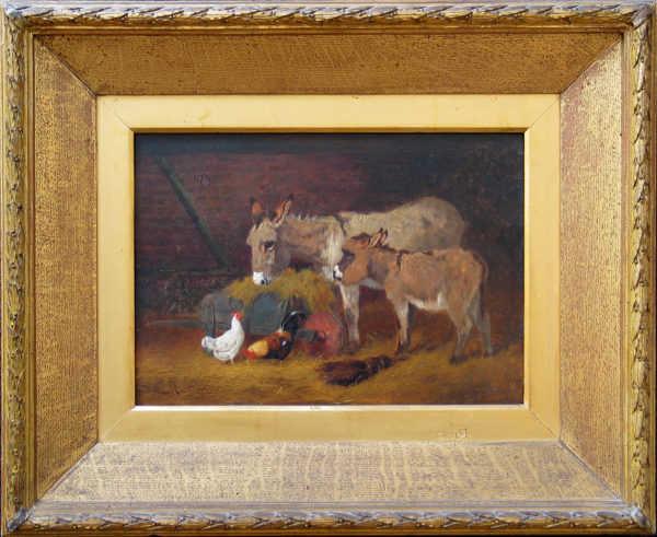 Arthur Batt donkey Appraisal sell artist Robert Perera Fine Art Ltd