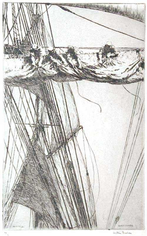 Sell Arthur Briscoe etching Robert Perera Fine Art Ltd