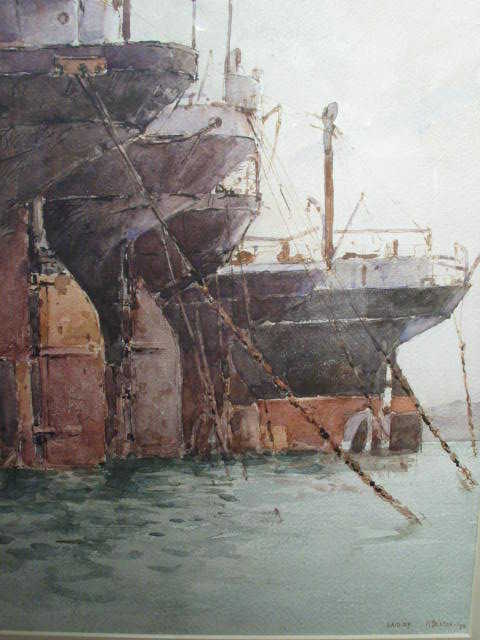 Value Arthur Briscoe watercolour Robert Perera Fine Art Ltd