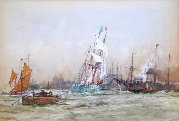 Charles Dixon artist Robert Perera Fine Art