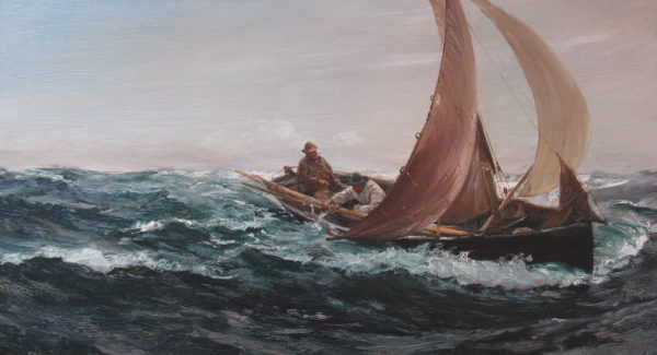 Charles Napier Hemy sell artist Robert Perera Fine Art Ltd
