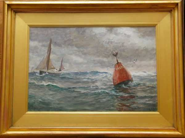 Charles Napier Hemy oil sell art to Robert Perera Fine Art