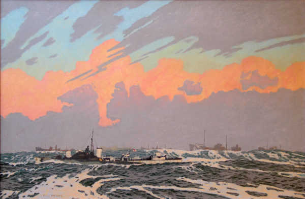 Charles Pears-dazzle ships sell artist Robert Perera Fine Art Ltd