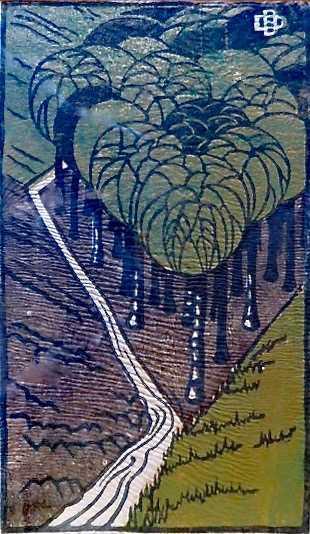 Dorrit Black linocut value - sell art to Robert Perera Fine