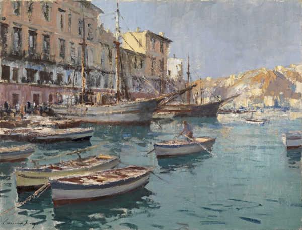 Edward Seago oil sell art to Robert Perera Fine Art