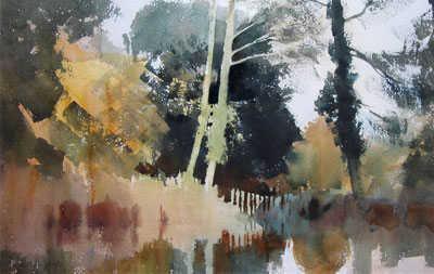 Edward Seago River watercolour artist wanted Robert Perera Fine Art Ltd