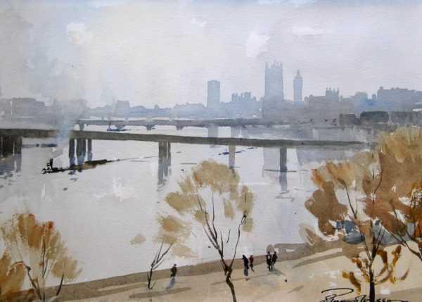Edward Wesson paintings sell art to Robert Perera Fine Art