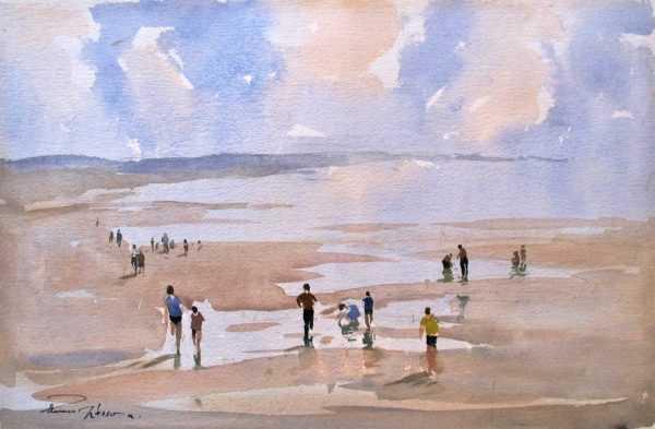 Value Edward Wesson watercolours sell art to Robert Perera Fine Art Ltd