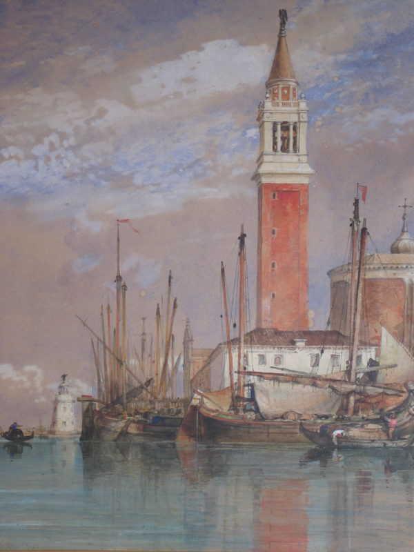 Edward William Cooke Venice valuation - sell artist Robert Perera Fine Art Ltd