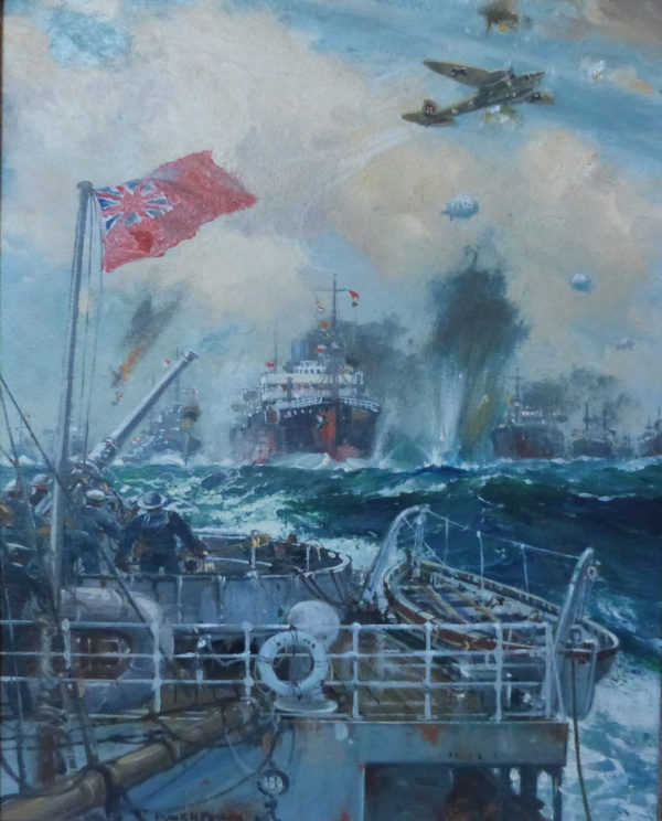 Frank Mason Marine Artist Valuation wanted Robert Perera Fine Art Ltd