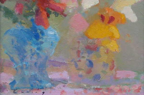 Fred Cuming sell art to Robert Perera Fine Art