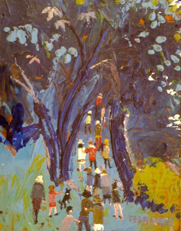 Fred Yates oil paintings price, value and appraisal - sell art to Robert Perera Fine Art