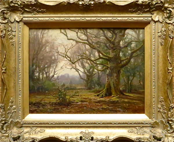 Artist Frederick Golden Short New Forest sell artist Robert Perera Fine Art