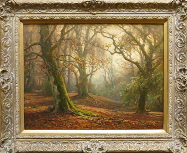 Frederick Golden Short New Forest value sell artist Robert Perera Fine Art
