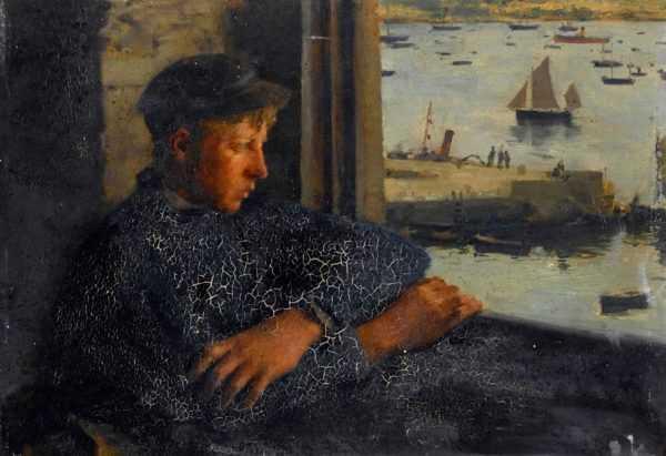 ell Henry Scott Tuke no auction fees Robert Perera Fine Art