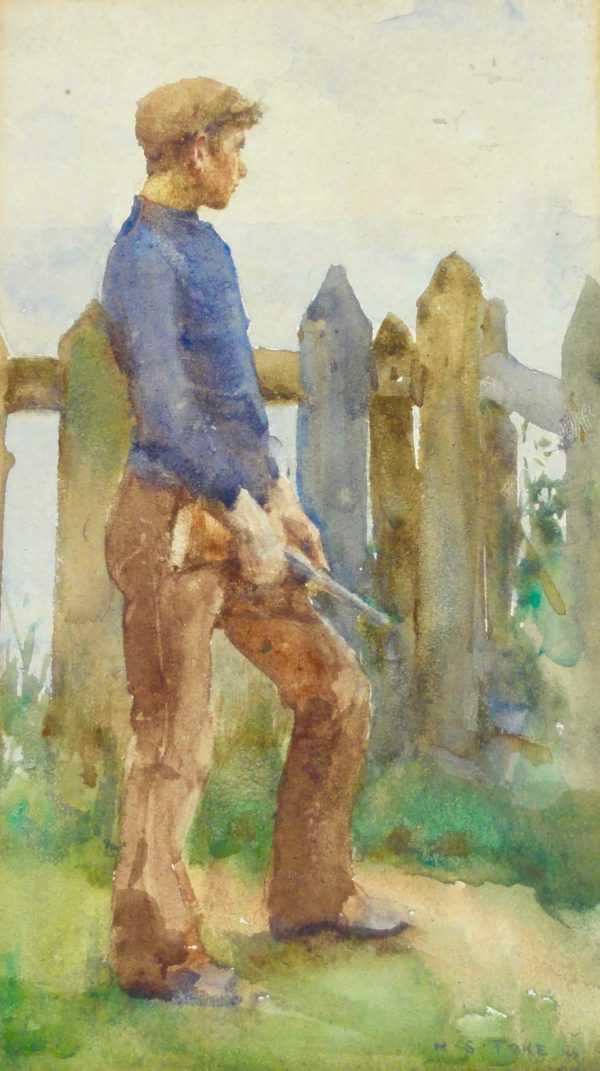 Henry Scott Tuke painting wanted by Robert Perera Fine Art