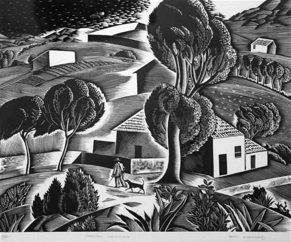 Iain MacNab woodblock valuation -sell artist Robert Perera Fine Art Ltd