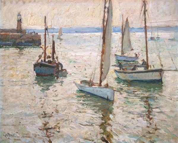 John Anthony Park JA Park sell art to Robert Perera