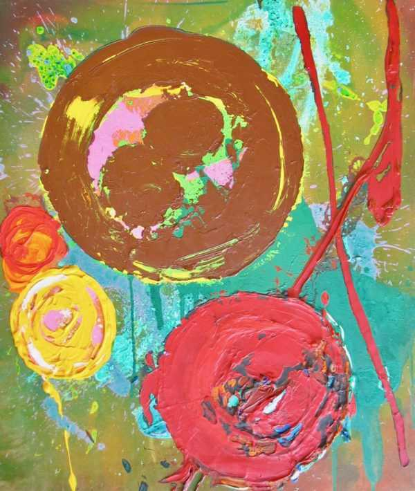 Value John Hoyland oil sell art to Robert Perera Fine Art