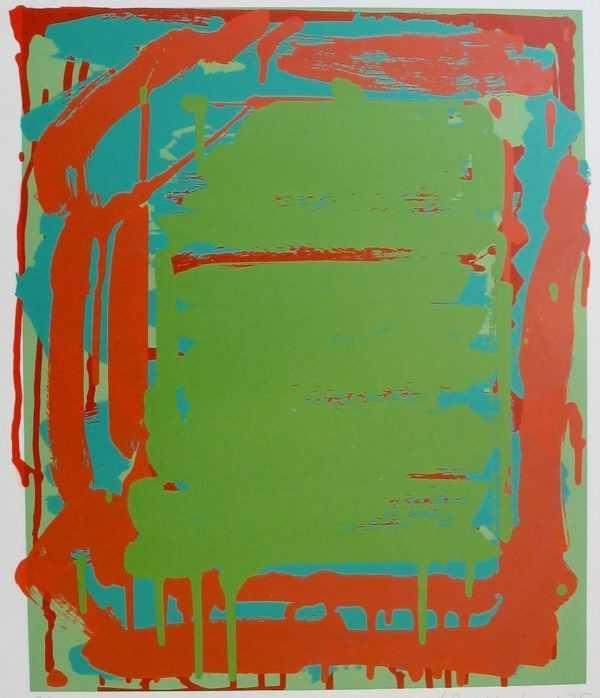 Value John Hoyland print sell art to Robert Perera Fine Art