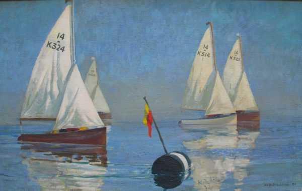 Keith Shackleton sell art to Robert Perera
