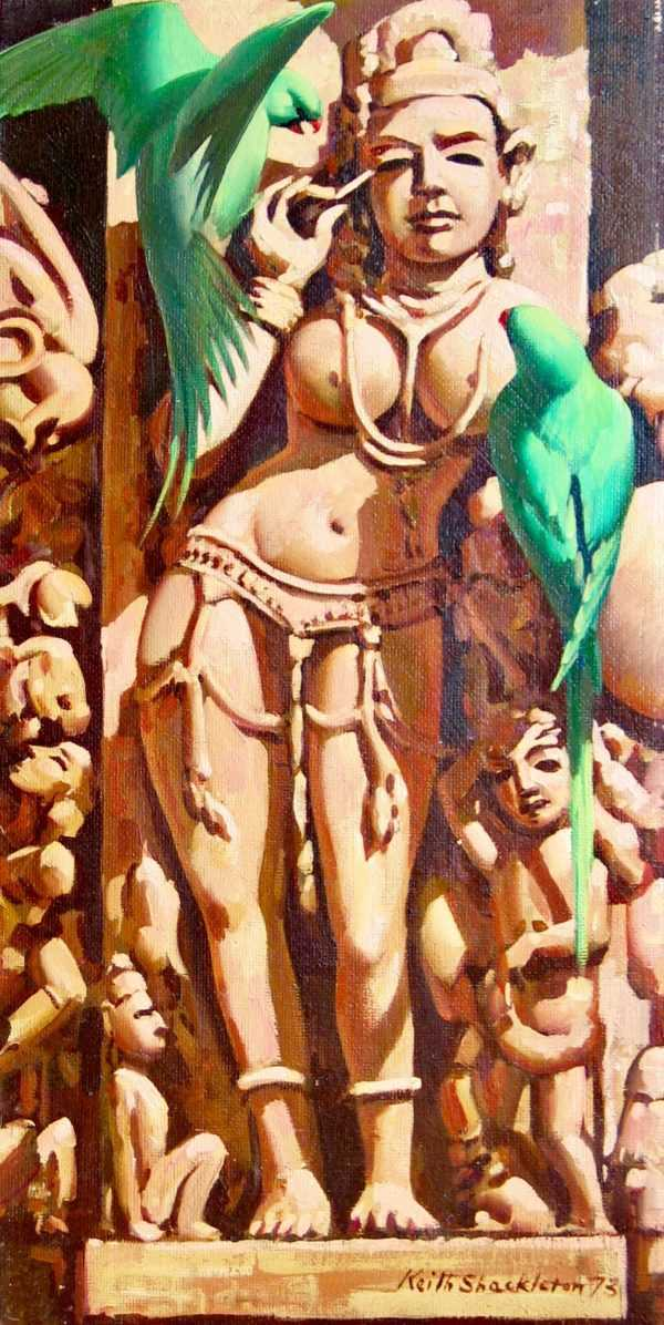 Keith Shackleton oil auction value - Robert Perera Fine Art Ltd