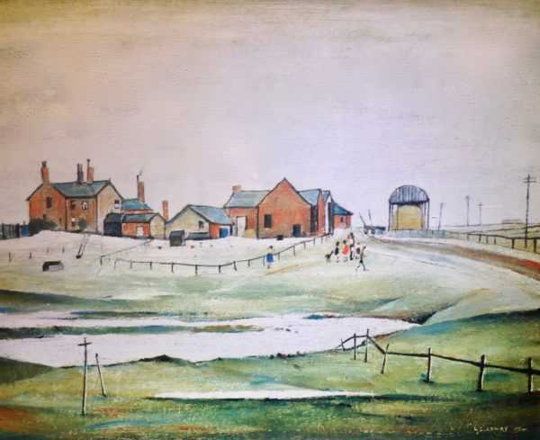 LS Lowry limited edition print valuation sell art to Robert Perera Fine Art