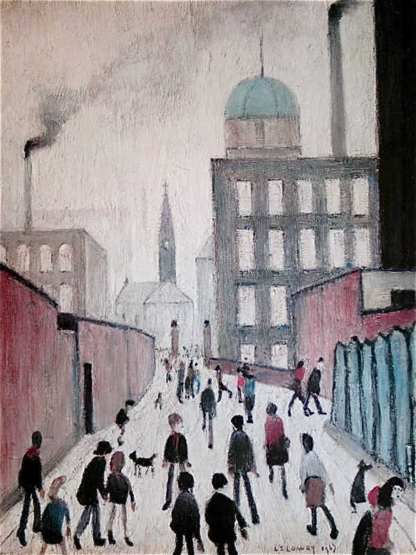 LS Lowry signed limited edition value sell artist Robert Perera Fine Art Ltd