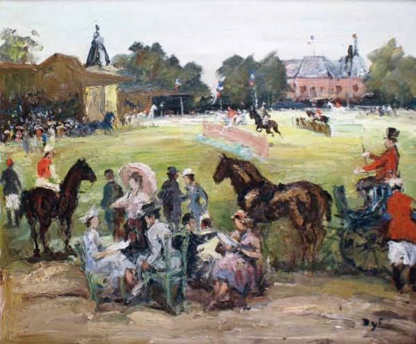 Marcel Dyf Horses French artist valuation - Robert Perera Fine Art