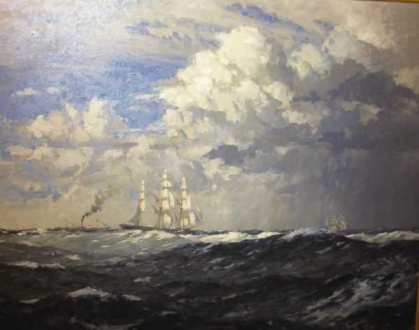 Norman Wilkinson sell art to Robert Perea Fine Art
