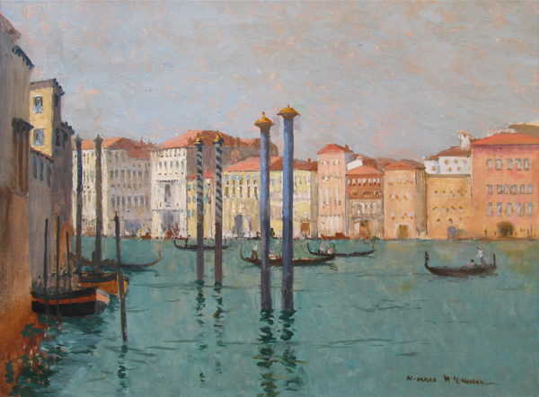 Norman Wilkinson sell art to Robert Perera Fine Art