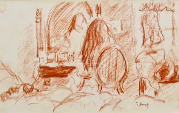 Paul Maze sell art to Robert Perea Fine Art