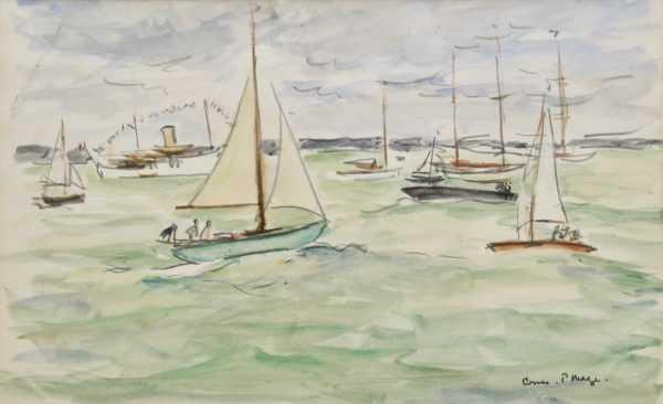 Paul Maze artist values sell art to Robert Perea Fine Art