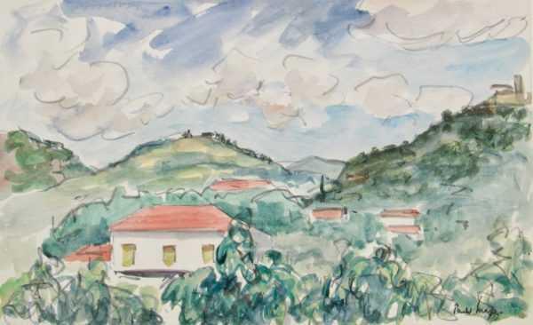 Paul Maze valuation sell art to Robert Perea Fine Art