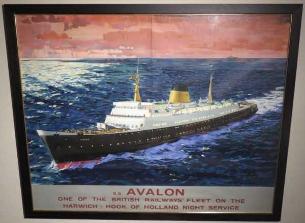 Vintage Railway poster Value sell art to Robert Perera Fine Art