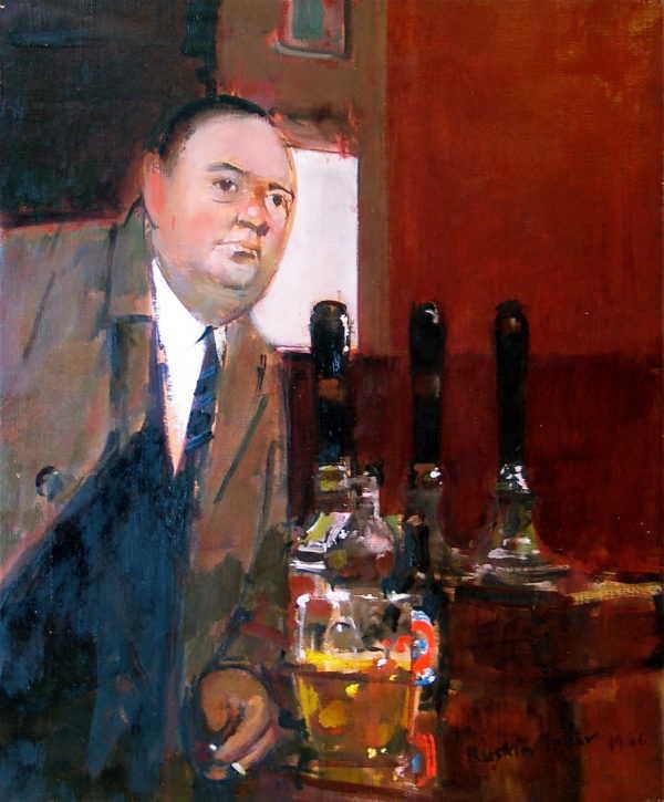 Sell Ruskin Spear painting to Robert Perera Fine Art