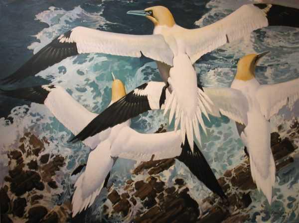 Keith Shackleton painting Auction valuation - Robert Perera Fine Art Ltd.