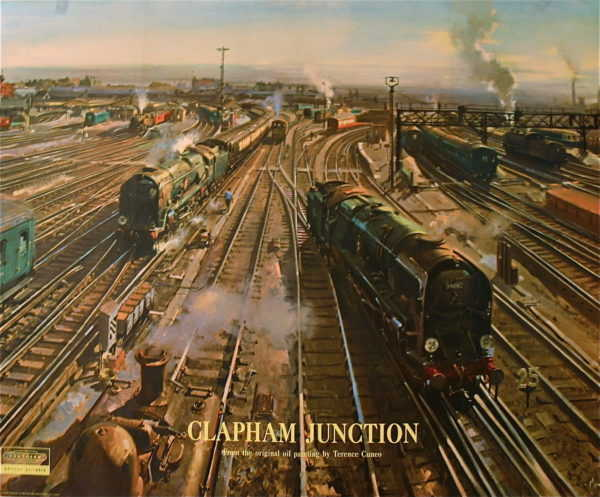 Terence Cuneo poster sell art to Robert Perera Fine Art