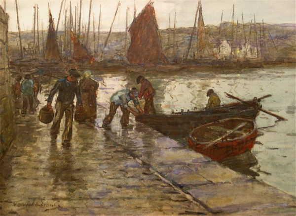 Value Terrick Williams waterrcolour sell artist Robert Perera Fine Art