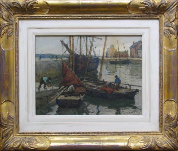 Terrick Williams painting valuation - waterrcolour sell artist Robert Perera Fine Art